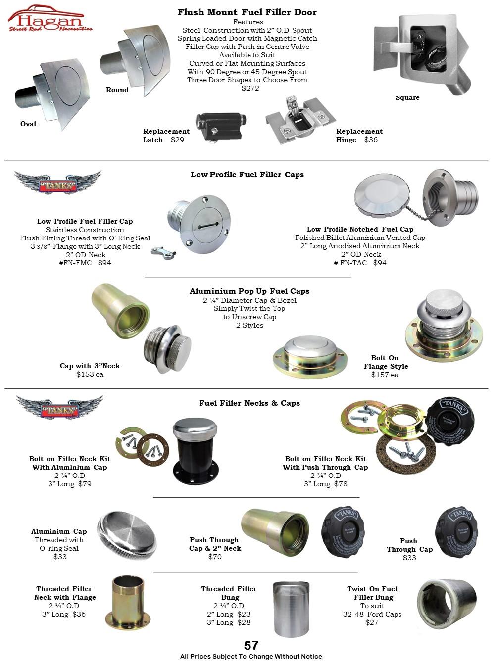 Car Fuel Tanks, Steel Tanks, Senders, Fuel Pumps, Filler